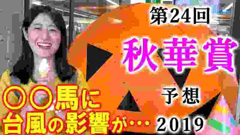 【競馬】秋華賞 2019 予想(台風の影響が間違いなく出ています) ヨーコヨソー