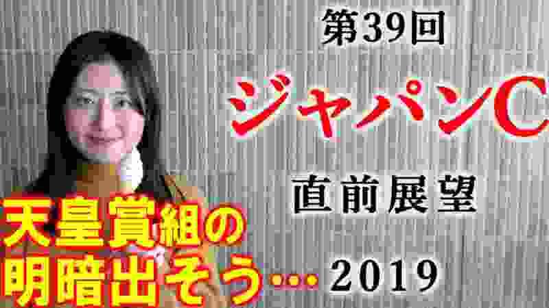 【競馬】ジャパンカップ 2019 直前展望(今週こそ同一馬主のワンツーあるのか!?) ヨーコヨソー