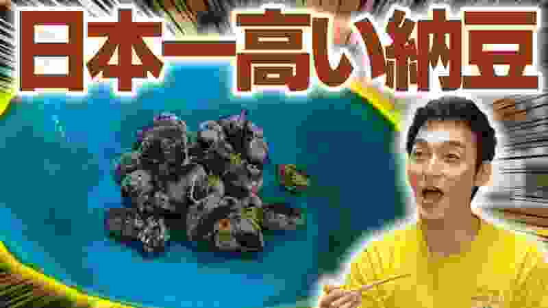 【超高級】日本一値段が高い納豆の味に草彅剛感動!
