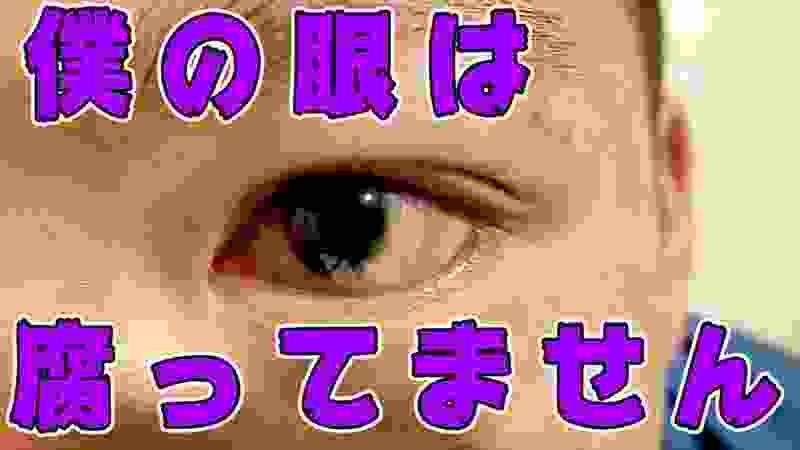 【意味深】すーさんの左眼の視力は・・・