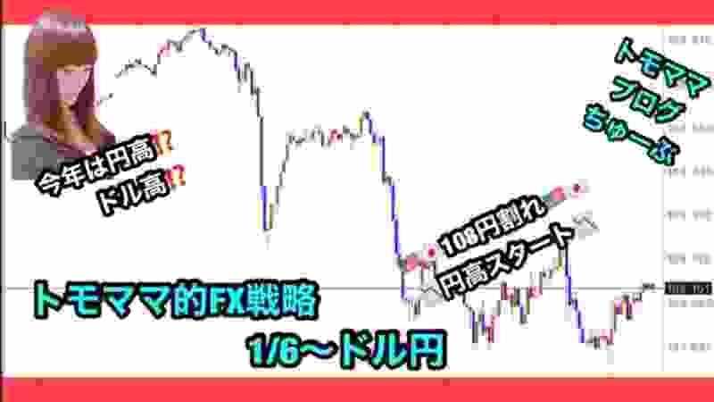 トモママ的FX戦略1/6~ドル円